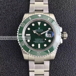 Đồng Hồ Rolex Fake 1-1 Submariner Date 116610LV