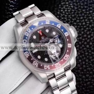 Đồng Hồ Rolex Fake 1-1 GMT Master II 116719BLRO