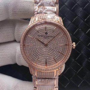 Đồng Hồ Vacheron Constantin Replica 1-1 85180 Gold