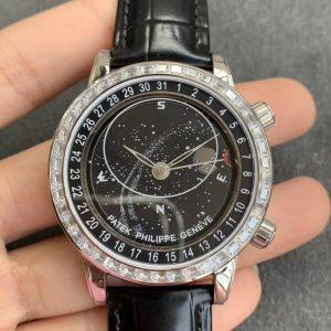 Đồng Hồ Patek Philippe Rep 1-1 Grand Complications 6104P-001
