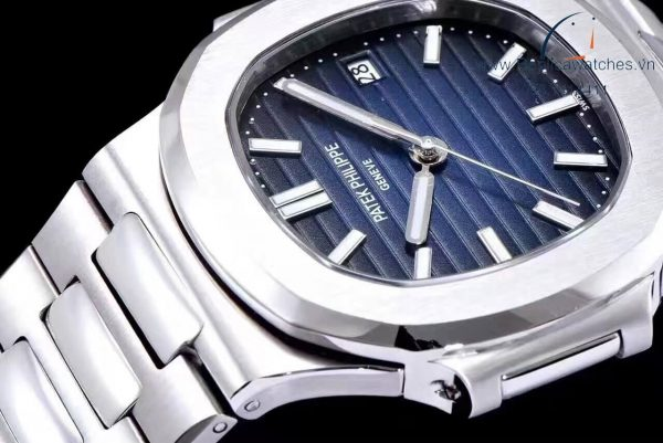 Đồng Hồ Patek Philippe Fake 1-1 Nautilus 5711/1A-010 Steel Blue