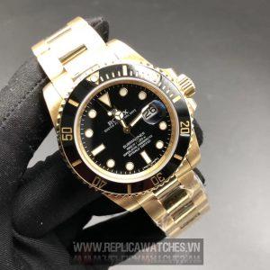 Rolex Submariner Date Yellow Vàng Nguyên Khối 18k