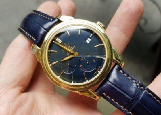 đồng hồ omega dây da