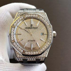 Đồng Hồ Audemars Piguet Super Fake 1-1 Royal Oak  Full Diamond