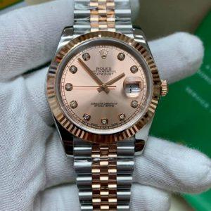Rolex 278271 Bọc Vàng 18K Cọc Số Kim Cương Thiên Nhiên