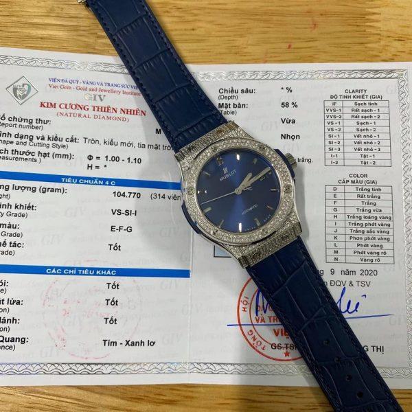 hublot-classic-fusion-titanium-xanh-navy-fake-1-1-do-full-vien-kim-cuong-thien-nhien