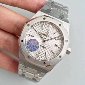 Đồng Hồ Audemars Piguet Fake 1-1 Royal oak Silver Dial