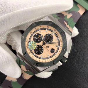 Đồng Hồ Audemars Piguet Replica 1-1 Chronograph Camouflage Unworn
