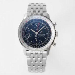 Đồng Hồ Breitlingg Fake 1-1 Blue Stainless